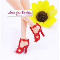 Sapatinho Fashion Para Barbie * Sapato De Luxo * Mattel