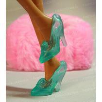 Sapato Para Boneca Barbie * Sapatinho Princesa Disney Ariel