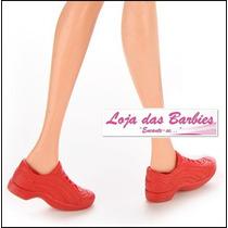 Tênis Para Boneca Barbie ( Sapatinho * Sapato )