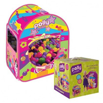 Barraca Com 100 Bolinhas Polly Pocket - Fun Divirta-se