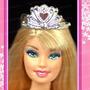 Coroa Tiara Princesa Para Boneca Barbie * Disney