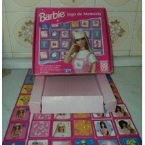 Jogo Antigo De Memoria Da Barbie Dec.90 Grow (b1)