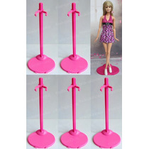 Lote Com 5 Suportes P/ Boneca Barbie * Susi * Monster High