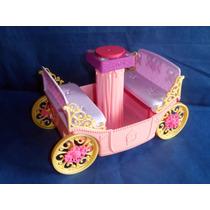 Charrete Da Barbie Incompleta Da Mattel De 2010 Sem O Cavalo