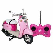 Moto Glamour Barbie Candide 7 Funções - Com Controle Remoto