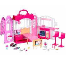 Barbie Real Casa De Férias Com Luz E Som - Mattel Cld97