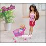 Carrinho De Mercado Para Barbie * Kelly * Casa De Bonecas !