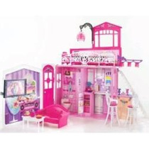 Barbie Glam Vacation House Barbie Casa De Ferias + 2 Barbies