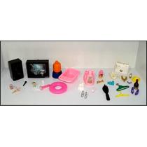 Super Lote Com 30 Itens Raros E Antigos Para Boneca Barbie !