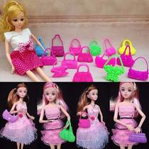Acessórios Boneca / Barbie Polly Doll - Bolsas (35 Und)