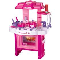 Kit Cozinha Infantil Com Som E Luzes.frete Grátis