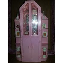 Cristaleira Estilo Rosas - Barbie - Estrela - Antiga