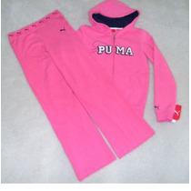 Conjunto Da Puma Tamanho 10/12 - Blusa Com Capuz