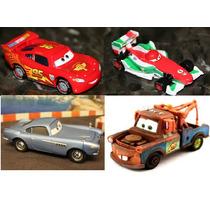 Pixar Cars 4 Carros Mcqueen Francesco Mater E Finn