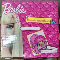 Barraca Barbie 100 Bolinhas - Caixa Com Alça