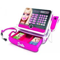 Caixa Registradora Brinquedo Infantil Da Barbie Intek