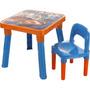 Mesa E Cadeira Hot Wheels - Fun
