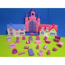 Novidade !!!!! 02 Casas Bonecas E Castelo