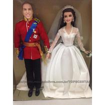 Edição Colecionador - Barbie E Ken Casal Real William Mattel