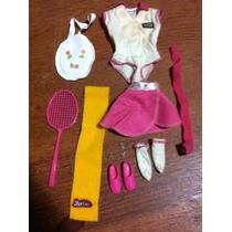 Roupa De Tênis + Acessorios - Barbie - Anos 80!! Raro!