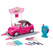Barbie Salão Do Automóvel - Mattel Promoção Queima De Estoqu