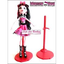 Sensacional ! Suporte Vermelho Para Bonecas Monster High ! *