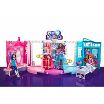 Casa Barbie Palco In Rock´n Royals Show Mattel