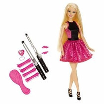 Boneca Barbie Cabelos Cacheados - Mattel Promoçaô