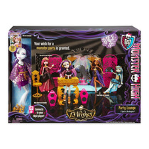 Monster High - 13 Wishes - Party Lounge + Spectra - Boneca