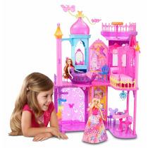Barbie Castelo Da Porta Secreta 3 Andares Equipada Original