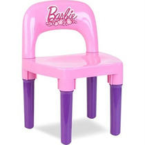 Cadeirinha Infantil Rosa Barbie Bb6010 Fun