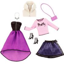 Barbie Roupinhas Fashion - Pack Com 2 Conjuntos Serie 1