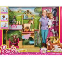 Barbie Veterinária Da Fazenda Quero Ser Lançamento 2016