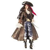 Barbie Collector Pirate Pirata Gold Label Maravilhosa Filme