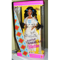 Boneca Barbie Of The World Native American 1992 Mattel 1753
