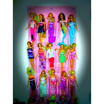 Organizador De Bonecas Da Barbie Com 25 Bolsos