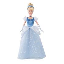 Boneca Princesas Da Disney Clássicas Cinderela Cristal