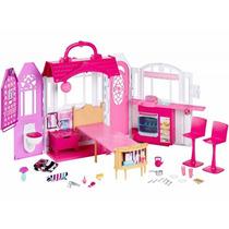 Nova Casa De Férias Barbie - Mattel Cld97