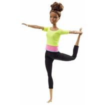 Barbie Made To Move Negra 2016 Feita Para Mexer Articulada