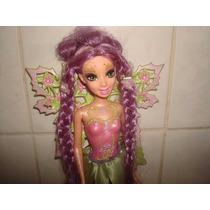 Boneca Barbie Fada Lilás - Mattel 2006.