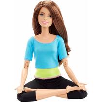 Barbie Made To Move Morena 2016 Fashionista Articulada