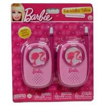 Rádio Walkie Talkie Fabuloso Da Barbie Infantil Bbwt4 Intek