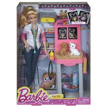 Boneca Barbie Profissões Veterinária - Mattel