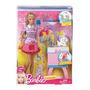 Boneca Barbie Cabeleireira Pet Shop Mattel! Frete Grátis!!!