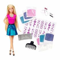 Boneca Barbie Glitter No Cabelo Clg18 Mattel