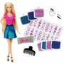 Boneca Barbie Glitter No Cabelo - Mattel Clg18