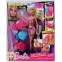 Barbie Color Chalk Hair Salon Doll