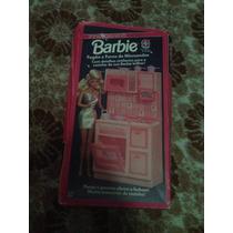 Barbie Fogão E Forno De Microondas Estrela