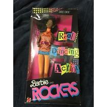Barbie Dee Dee Rockers Roqueira Negra 1986 Antiga 80