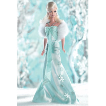 Boneca Barbie Collector I Dream Of Winter Sonho Do Inverno
